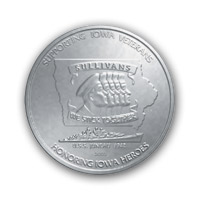 silver medal front